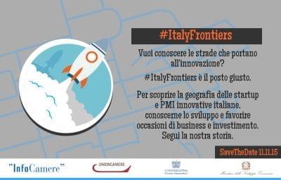 Nasce #ItalyFrontiers, una nuova piattaforma dedicata a startup e PMI innovative